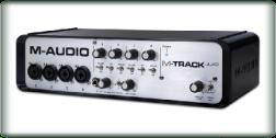 M-Audio- M-Track - Quad