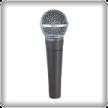 Micrófono dinámico o de bobina