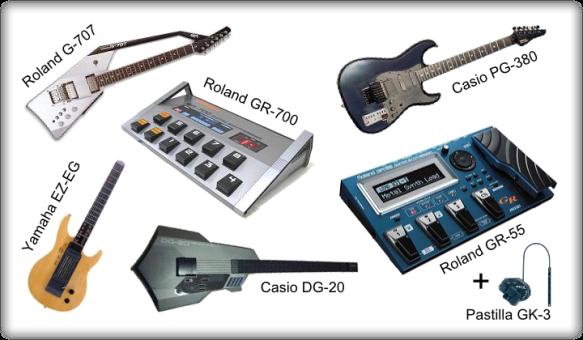 Guitarras MIDI